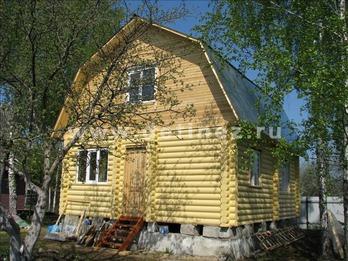Дачный дом 1094 из бревна