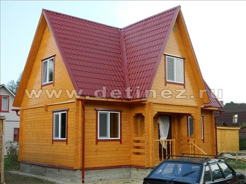Дом из бруса 1144