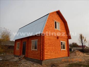 Дачный дом 1300 из бревна