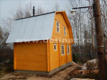 Дачный дом 1336 из бруса