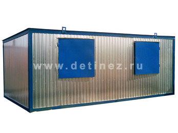 Блок-контейнер 6х2,5м улучшенной планировки