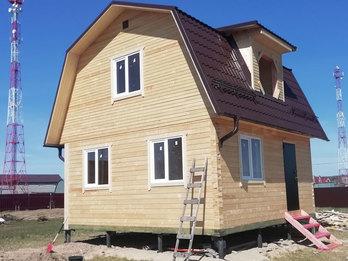 Дом из бруса 2244