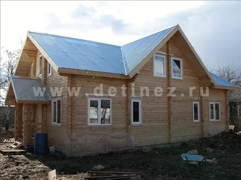 Дом 1290 из бруса