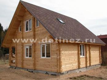 Дом из клееного бруса 157 11х11м