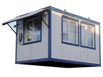 Блок-контейнер 3х2,5м 3 окна