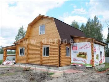 Дом 22 из бревна
