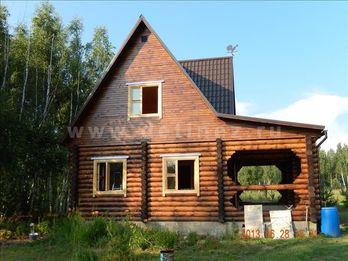 Дачный дом из бревна 1205