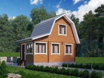 Дачный дом из бруса 1418