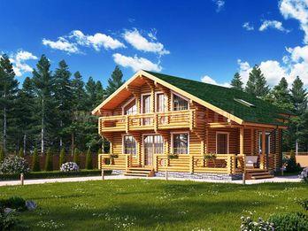 Дом из бревна 1429