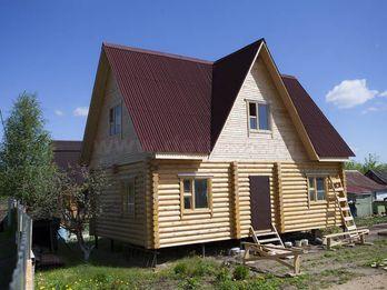 Дом из бревна 1119