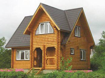 Дачный дом 3152 из бревна