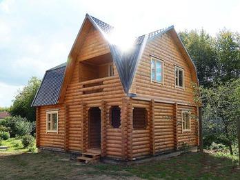 Дом из бревна 1507
