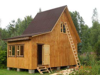 Каркасный дом 1535