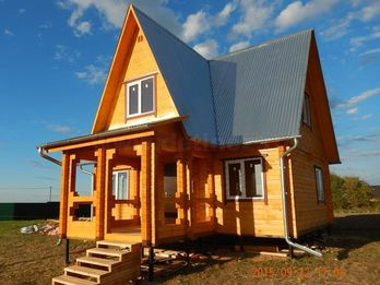 Дачный дом 1357 из бруса