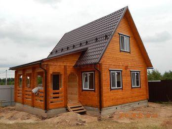 Дачный дом 2190 из бруса