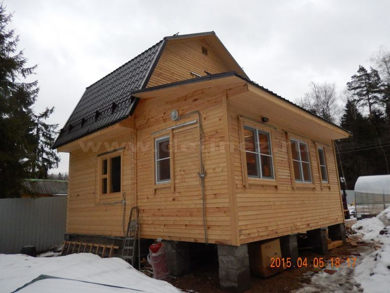 Дом из бруса 2021