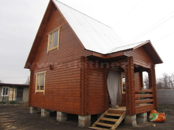 Дом из бруса 2098
