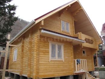 Дом из бруса 2159