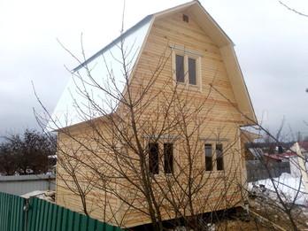 Каркасный дом 158 4х5м