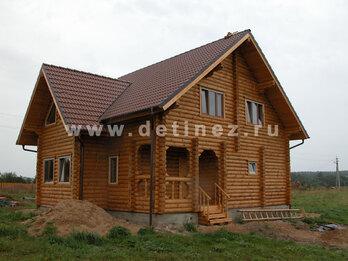 Дом из бревна 117 8х10м