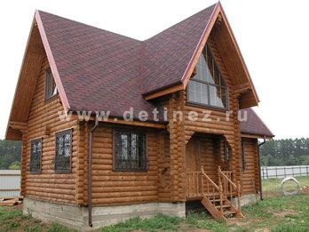 Дачный дом из бревна 409