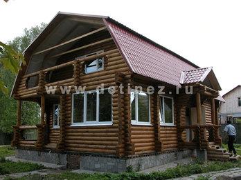 Дом 412 из бревна