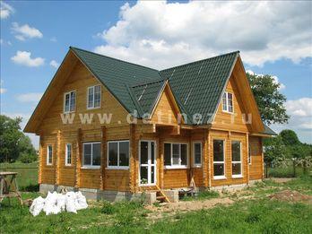 Дом из клееного бруса 156 10х12м