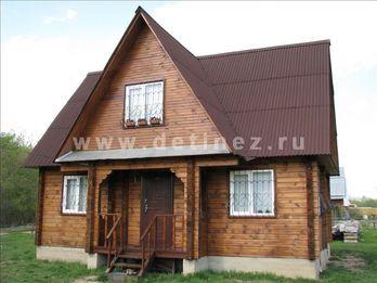 Дом из клееного бруса 141 6х8м