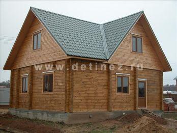Дом из клееного бруса 149 8х10м