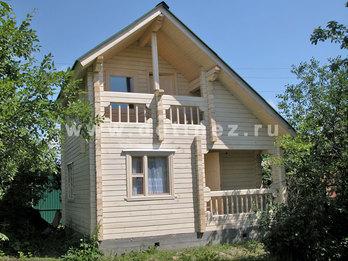 Дачный дом 501 из бруса