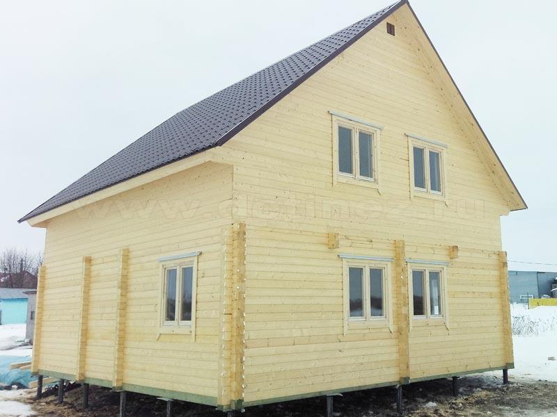 Дом из бруса 2010
