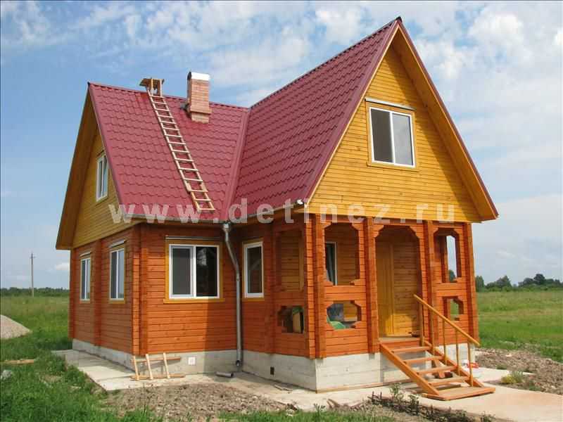 Дом 1314 из клееного бруса
