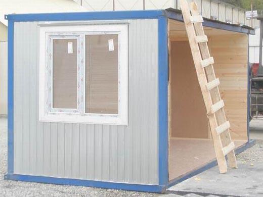 Секция 6х2,5м для модульных конструкций