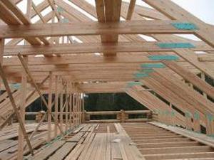 Несущая конструкция крыши