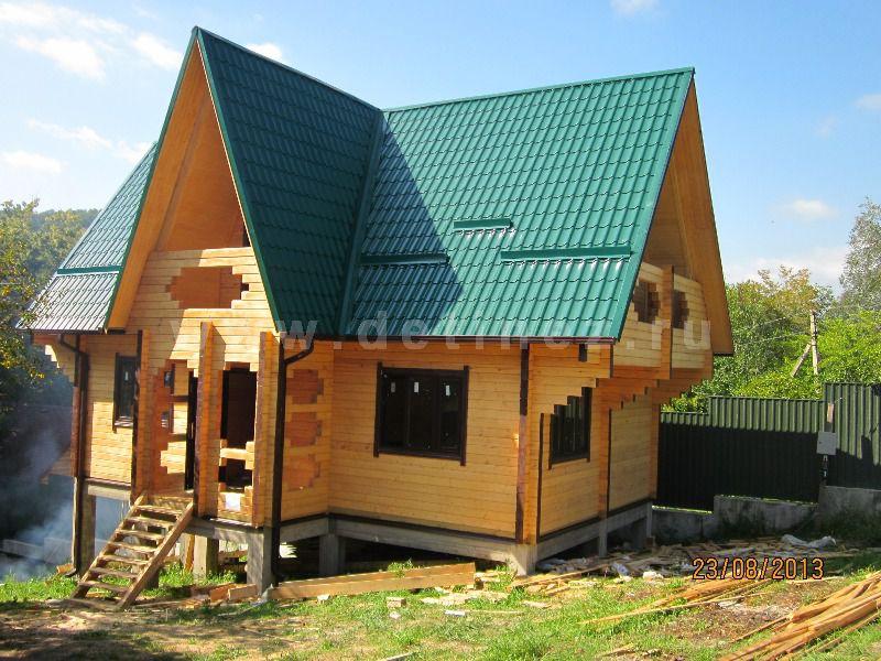 Дом из бруса 1286