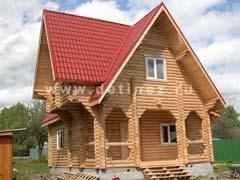 Фото 423 - дом 7х9м из бревна