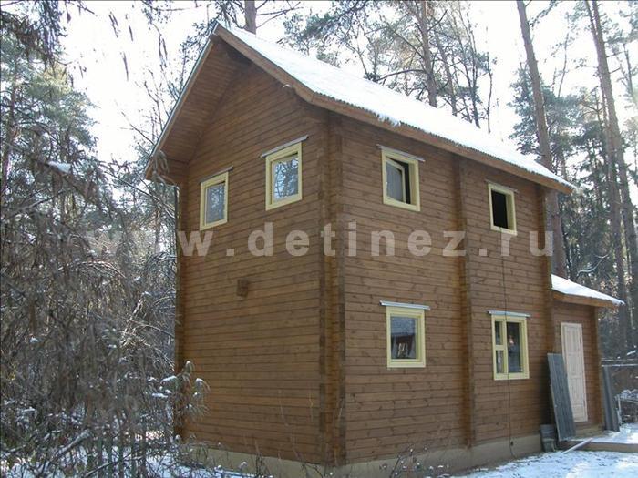 Дачный дом 104 из бруса