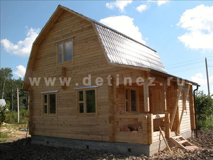 Дачный дом 153 из бруса