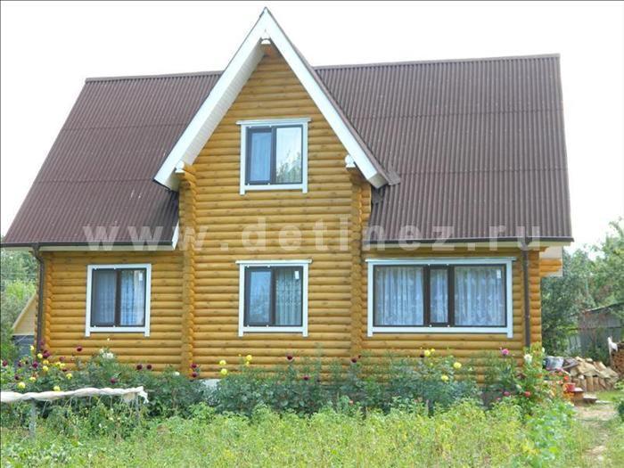 Дачный дом 375 из бревна