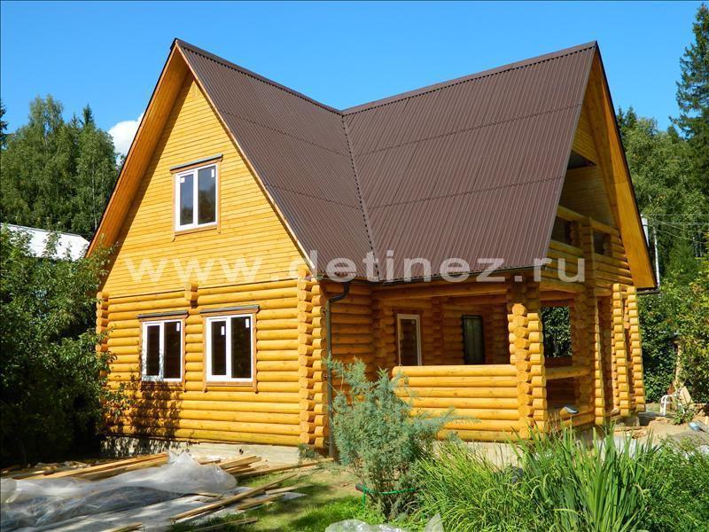 Дачный дом из бревна 427