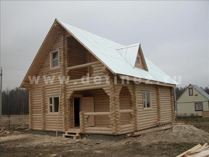 Дом 39 из бревна