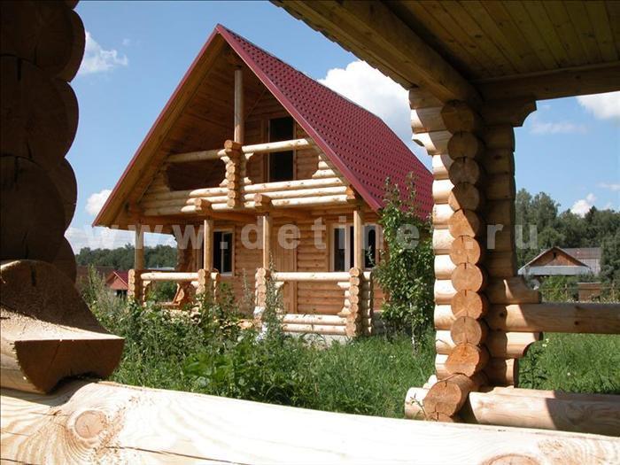 Дачный дом 49 из бревна