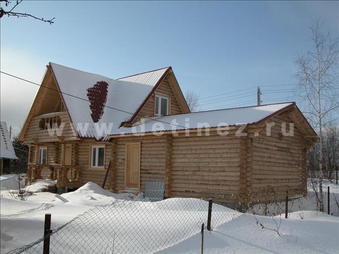 Дом 52 из бревна