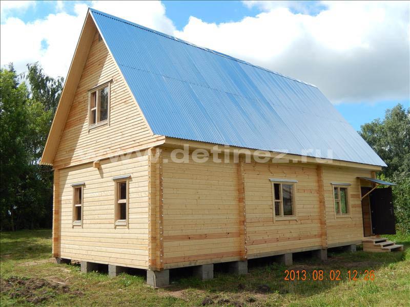 Дом из бруса 1221