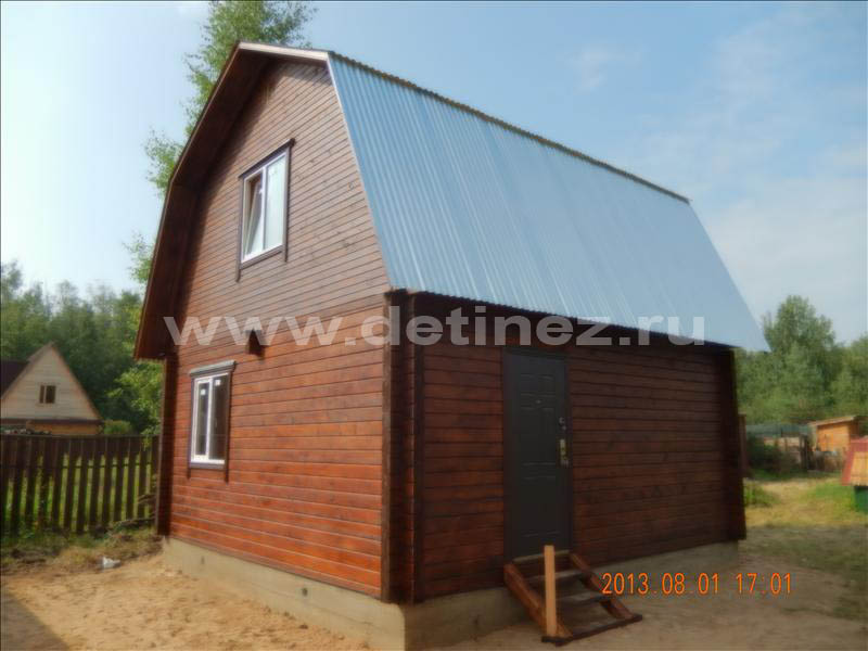 Садовый дом из бруса 1238