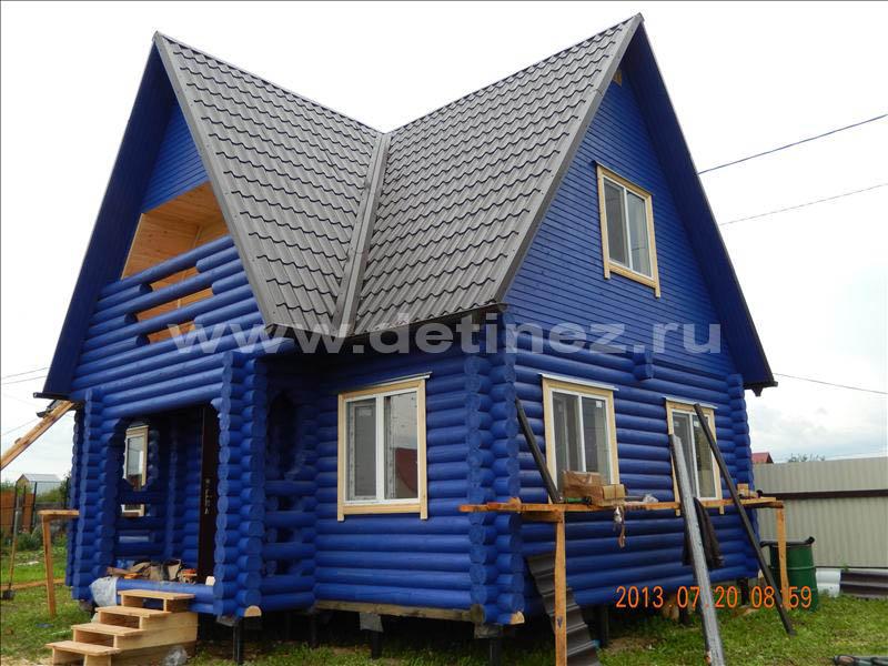 Дом из бревна 1251