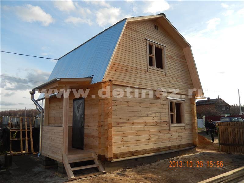 Дом 1306 из профилированного бруса