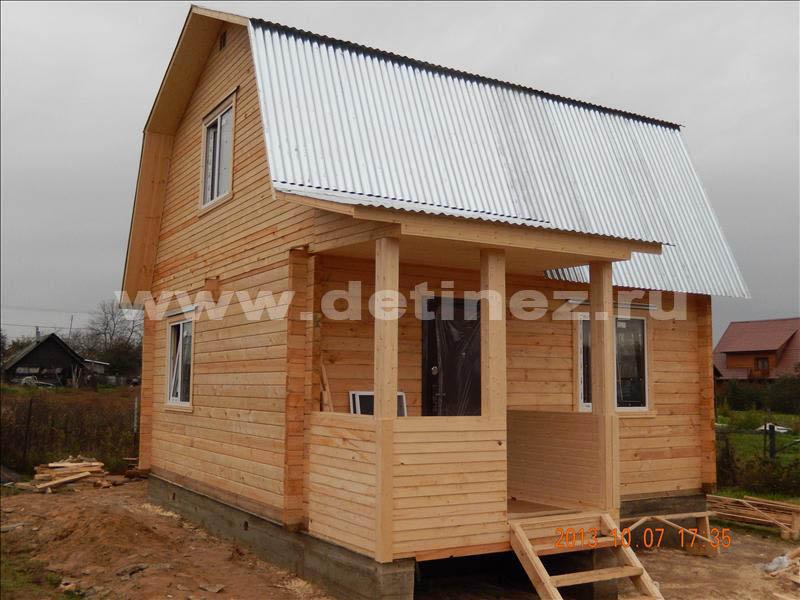 Садовый дом 1329 из бруса