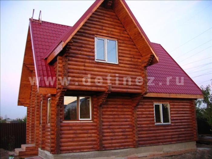 Дом 21 из бревна
