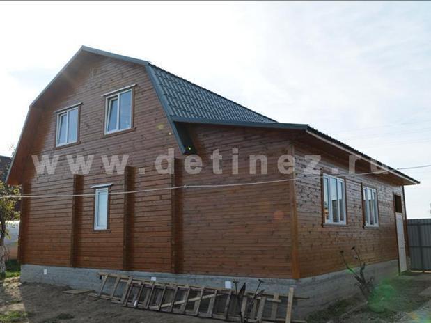 Дом 387 из клееного бруса